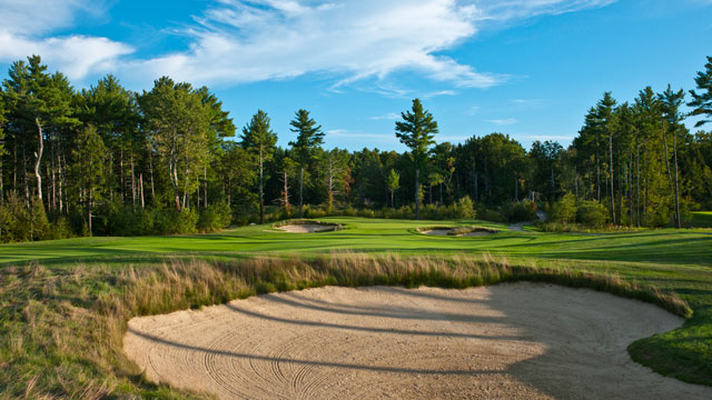 The 13th hole at the Golf Club of New England in Stratham, New Hampshire.