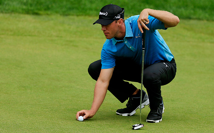 Graham DeLaet is tied with Watson at 13 under.