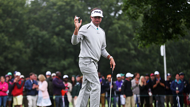 Bubba Watson during the Travelers Championship.