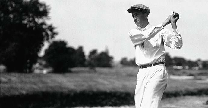 Francis Ouimet was the first amateur to win the U.S. Open in 1913 at Brookline, Massachusetts.