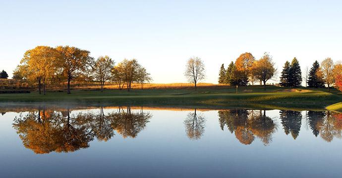 Hazeltine National Golf Course in Chaska, Minnesota.