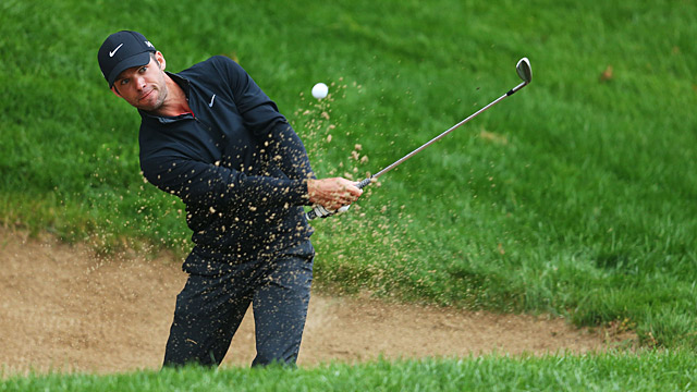 Paul Casey during the final round of the Travelers.