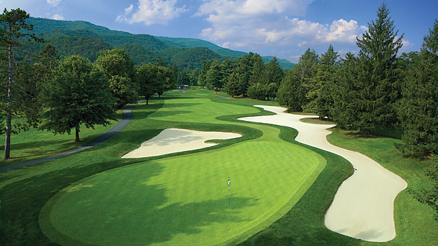 The 14th Hole at the Greenbrier Course.