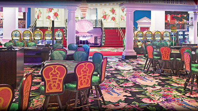 A view inside at Greenbrier's Casino.