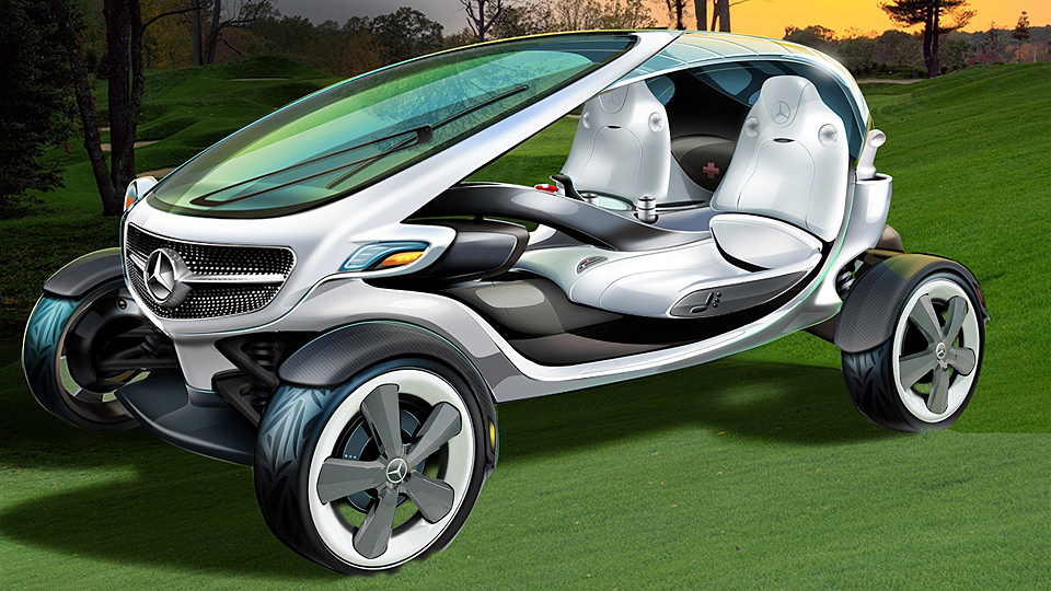 Mercedes Vision Golf Cart Prototype