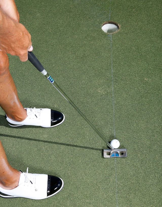 Use the chalk-line drill to increase accuracy instantly.