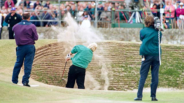 Before the infamous Road Hole bunker all but ended the four-hole playoff, it nearly ended Daly's chances in regulation.