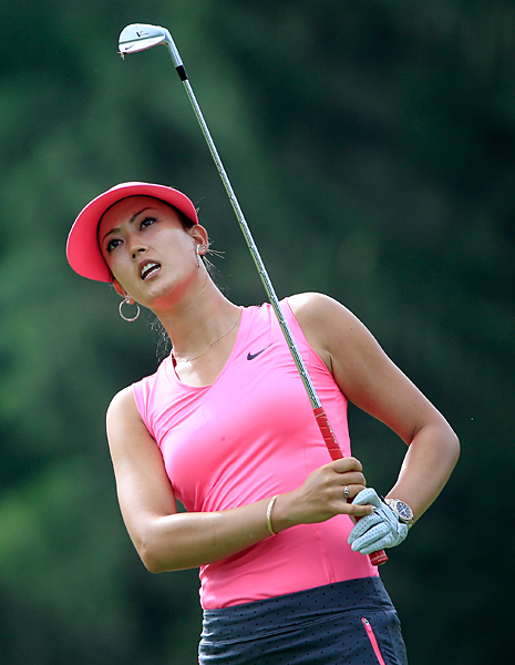 Michelle Wie was two over on day 1.