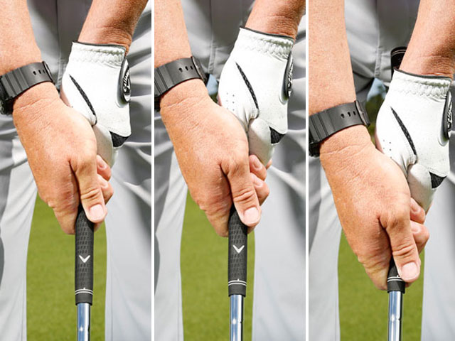 Practice with a choked-down grip and you'll soon have 27 specific shots dialed in.