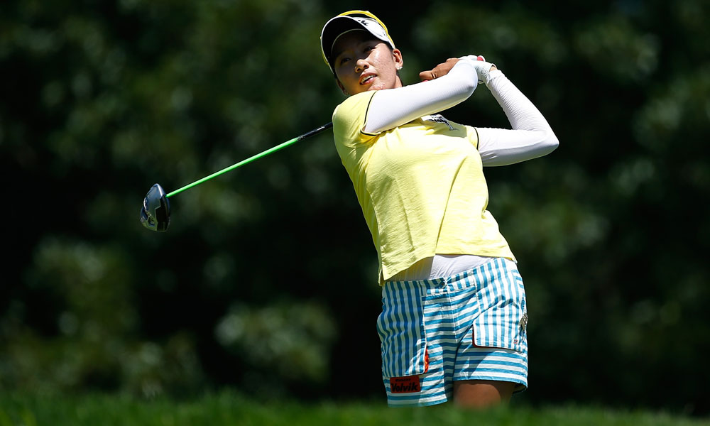 Chella Choi's 64 is the lowest third-round score in championship history.