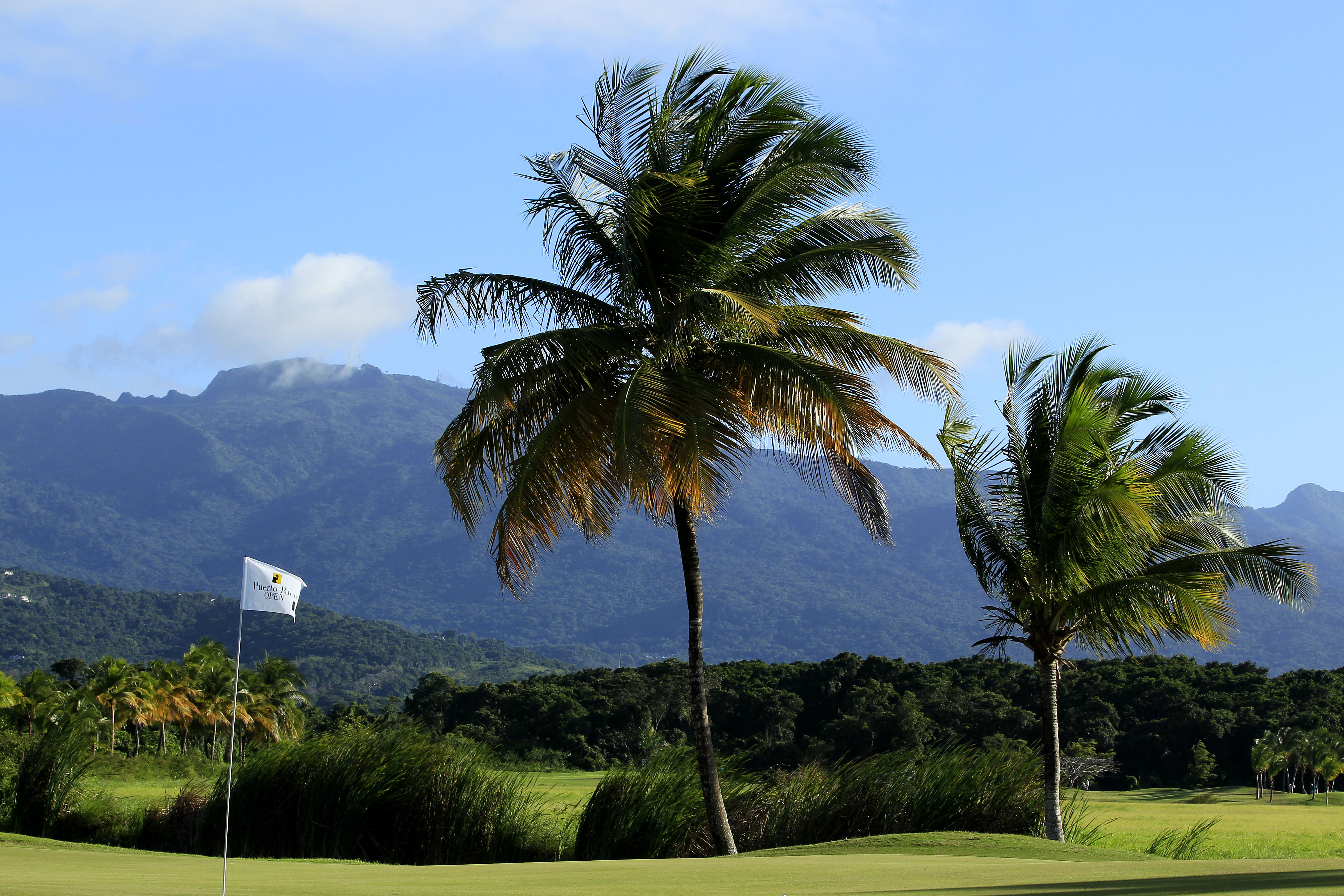 A view of he eighth hole at Trump International Golf Club Puerto Rico.