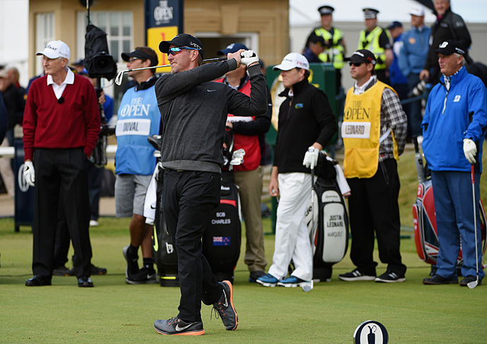 David Duval won the 2001 Open Championship at Royal Lytham & St. Annes.