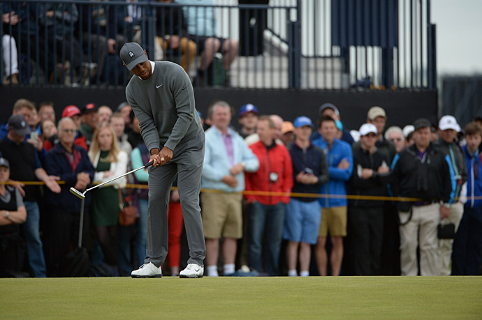 He will have to go low on Friday to make the cut.