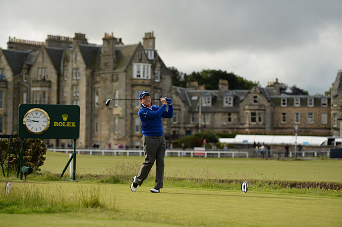 Tom Watson is playing in what will likely be his final Open Championship.