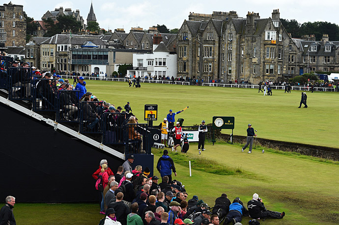 Amateur Paul Dunne had an incredible round on Sunday,