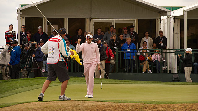 Ian Poulter at the 2010 World Match Play Championship. Poulter has picked up a pair of WGC titles and in 2012 he finished in the top 10 at three of the four majors.