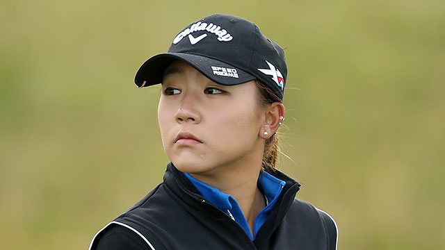 Lydia Ko finished four shots behind Inbee Park in the Women's British Open.