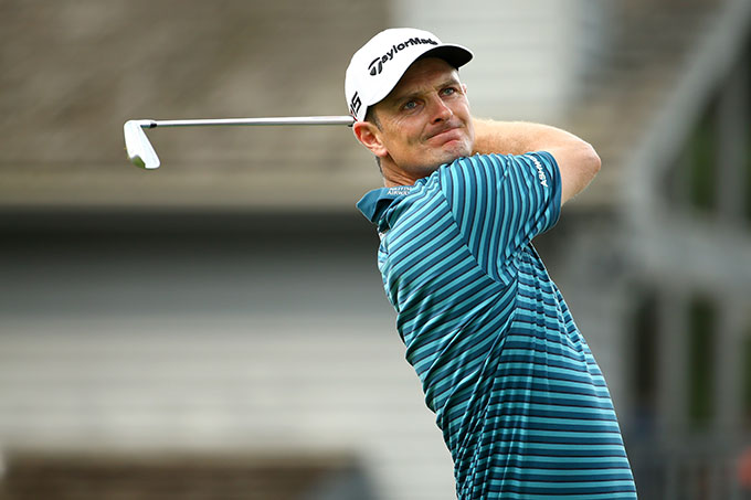 Justin Rose charged up the leaderboard after recording seven birdies and zero bogeys on Saturday.