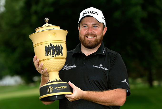 Shane Lowry won the WGC-Bridgestone for his first PGA Tour victory.