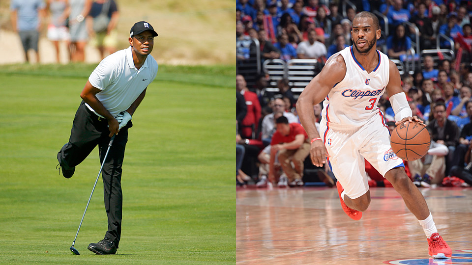 Tiger Woods will play a pro-am round with NBA star Chris Paul at the Wyndham Championship.