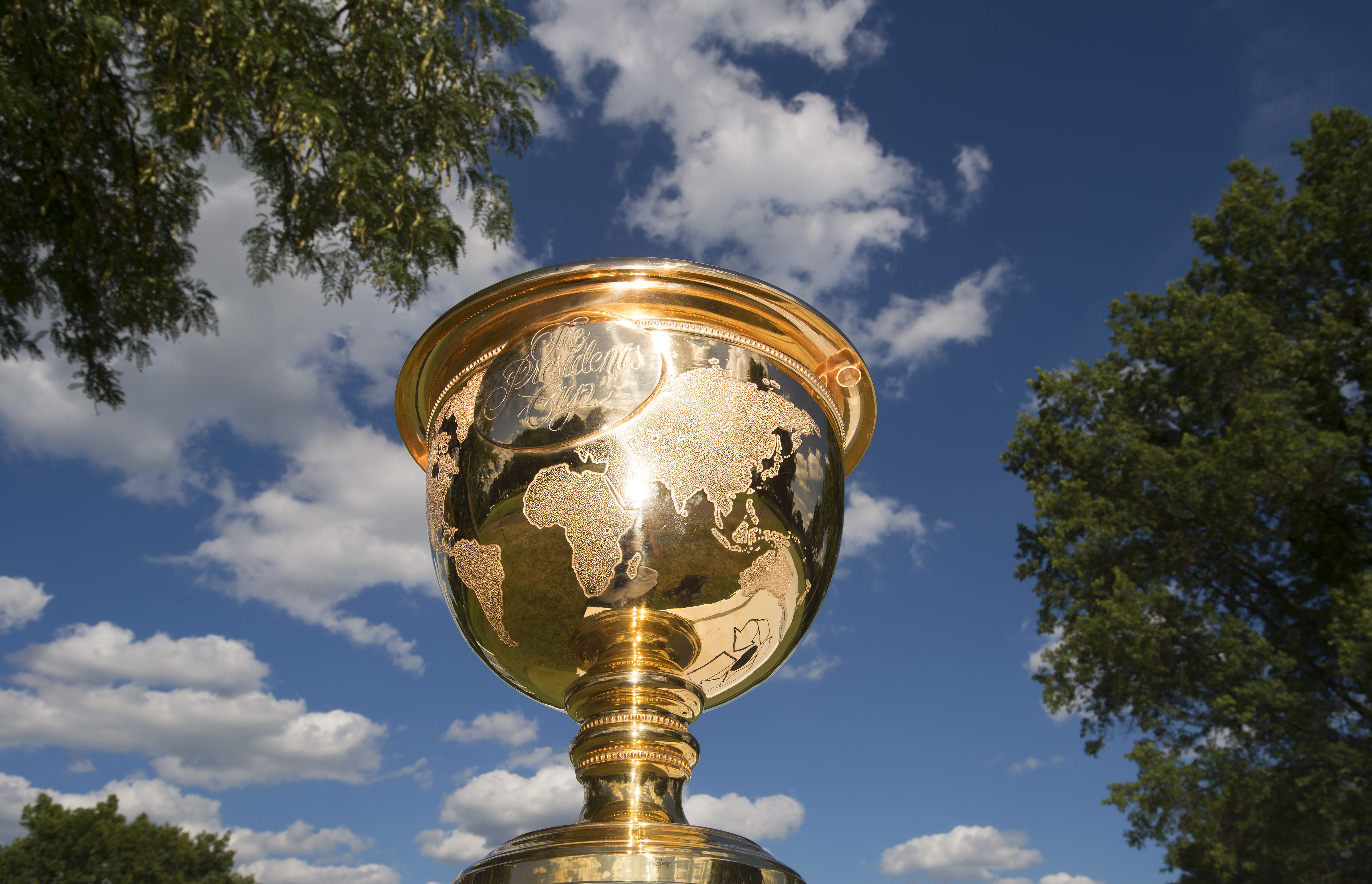 The U.S. and International teams will battle for the Presidents Cup in South Korea this October.