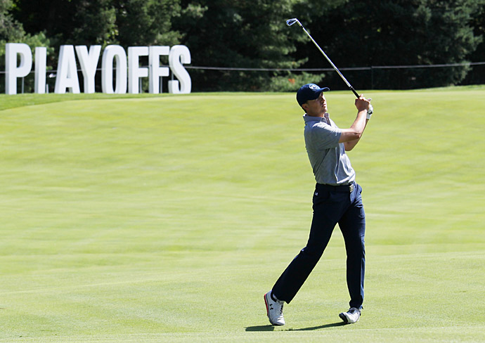 Despite going two under over his first nine, he finished with a four-over 74.