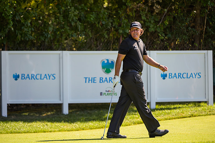 Phil Mickelson started strong in the first round.