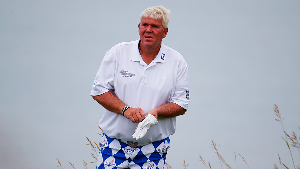 John Daly during the 2015 PGA Championship at Whistling Straits.