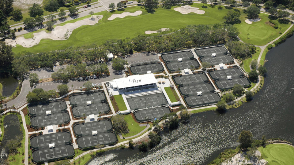 The Resort at Longboat Key Club in Sarasota, Fla., boasts a world-class tennis facility that features 20 hard courts. End your day with rounds on one of two fantastic golf courses.