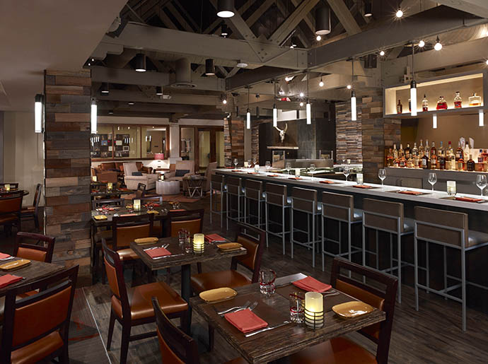 You can grab the tasty Toro Toro Burger at this TPC Scottsdale restaurant.