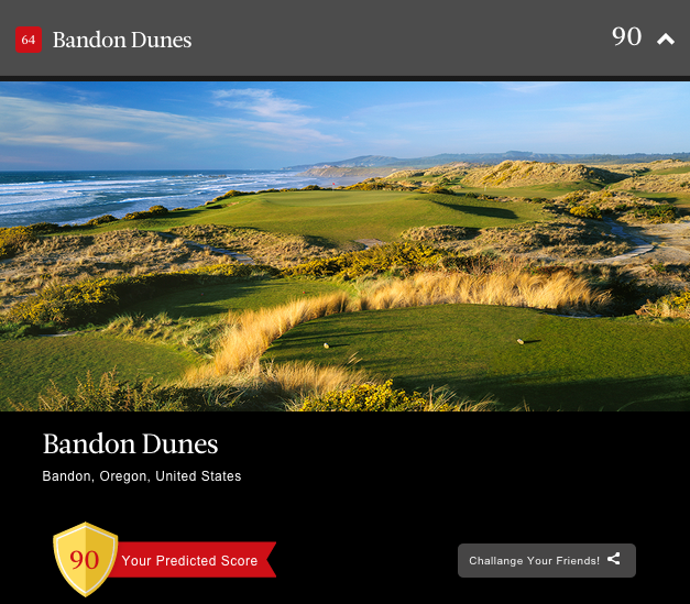 Condoleezza Rice on Bandon Dunes.