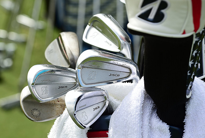 Brandt Snedeker uses Bridgestone J15CB irons.