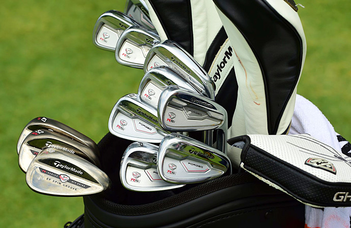 World No. 1 Jason Day has TaylorMade RSi TP irons in his bag.