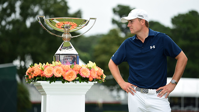 Five times a winner in 2015, Spieth, 22, matched his PGA Tour earnings (in millions) with his age.