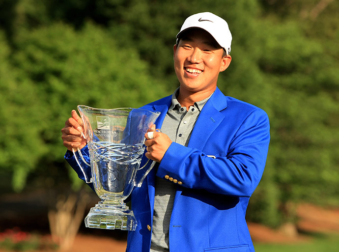 Anthony Kim's first PGA Tour win, the Wachovia Championship at Quail Hollow Country Club.
