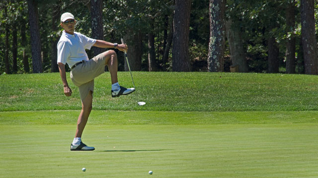 Nearby Farm Neck Golf Club is one of President Barack Obama's favorite golf spots.