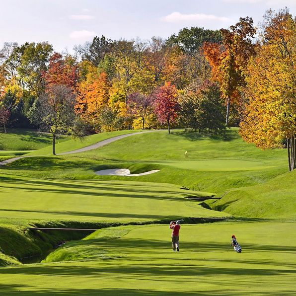 Happy first day of fall! #fall #nicklausdesign #golf #golfcourse