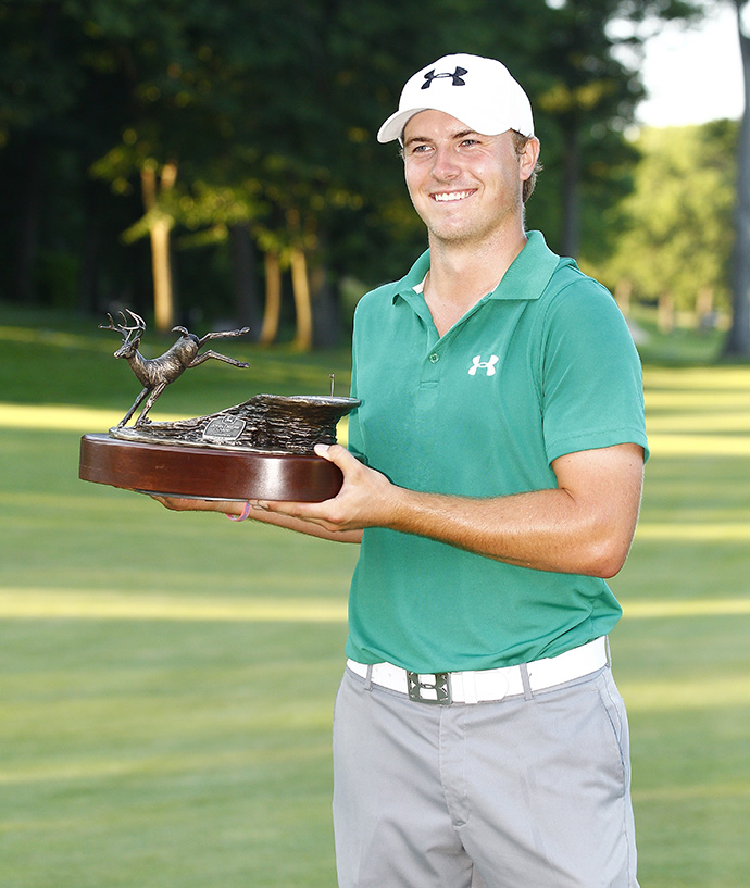 The 2013 Rookie of the Year had one of the best rookie seasons on record, finishing eighth in the FedEx Cup standings with one win and three runner-up finishes.