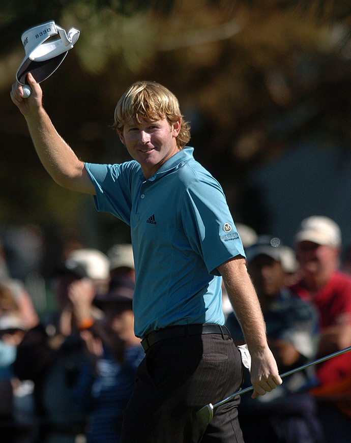 Snedeker's victory at the 2007 Wyndham Championship and six top-10s locked in his ROY win.