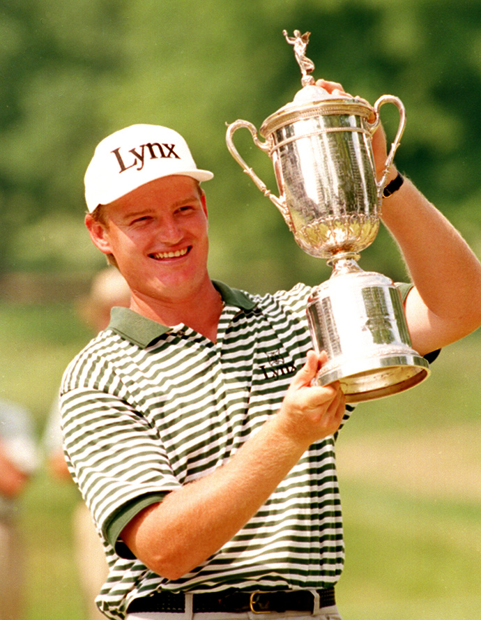A win at the U.S. Open plus a runner-up and four other top-10s were more than enough to secure Els the 1994 ROY award.