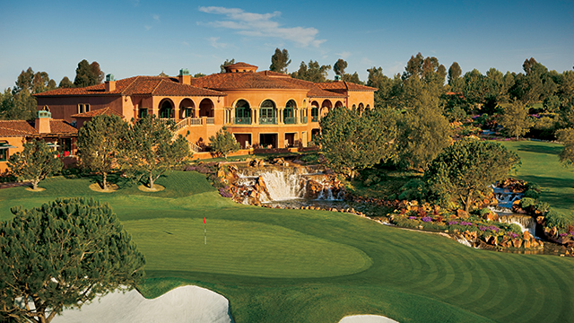 The resort hosts the only Tom Fazio-designed golf course in San Diego.