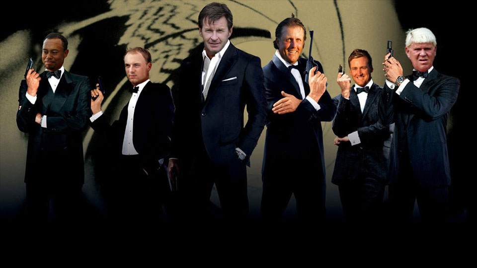 Who is the James Bond of Golf?
