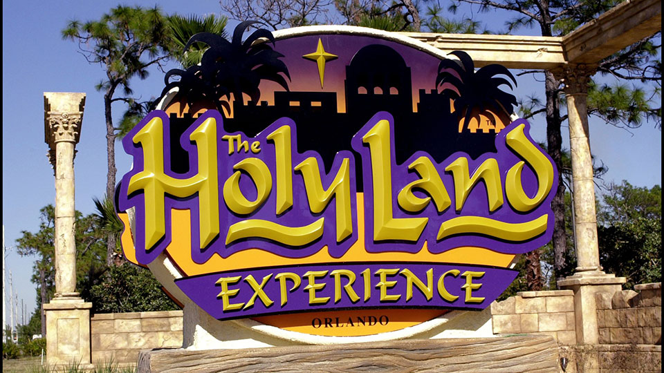 The Holy Land Experience theme park opened in Orlando in February 2001.