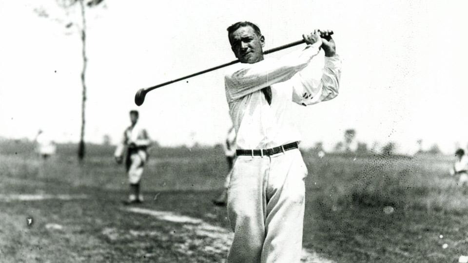 Leo Diegel in 1927.
