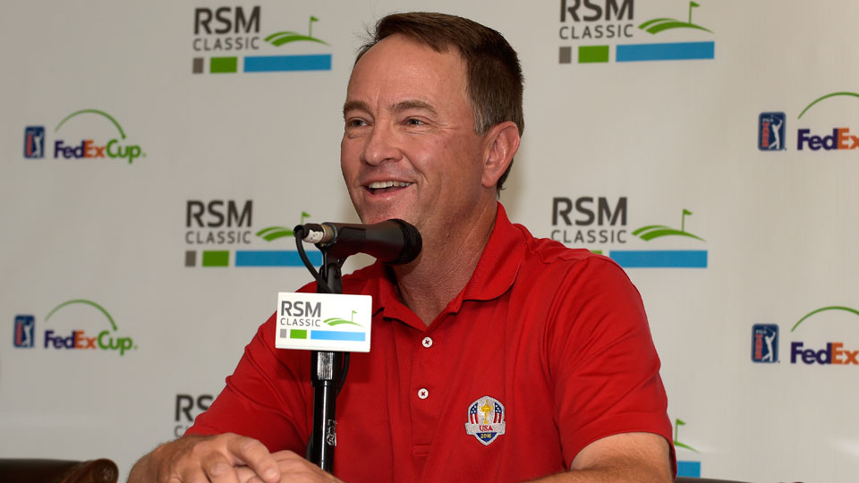 Davis Love III is the unofficial tournament host of the RSM Classic.