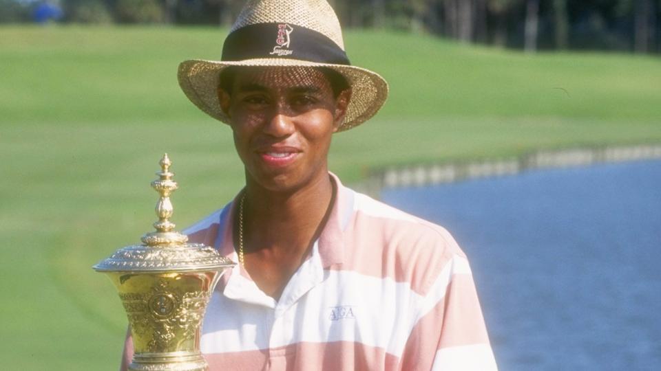 Den Comeback Kid Tiger Woods vinder 1994 Us Amatør-5924