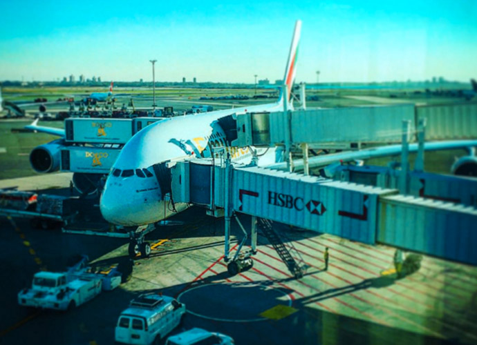 Take me to Dubai big bird! Last long trip of the year, JFK-Dubai for my last event of the year #Emirates#A380 #Race2Dubai #LetsGo