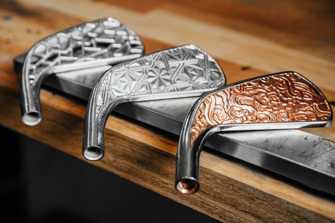 Grismont Paris is the company that produces these beautiful luxury driving irons.