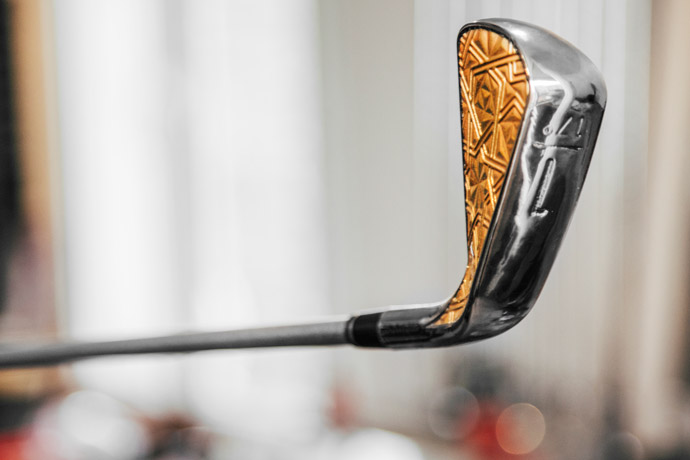 """According to Grismont, """"The Blade type design of Grismont Driving Irons contains a cavity in which all their power lies. This cavity makes the club extremely easy to handle and allows to create a very thin club face for a maximum distance."""""""