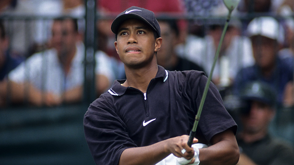 Tiger Woods at the 1997 PGA Championship.